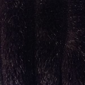 Style VI Ltd Other - Fo-Fur Black Dress Coat Style VI Ltd